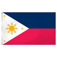 philippines flag 3ft x 5ft superknit polyester