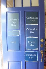 8 paint colors for a blue front door blue door living