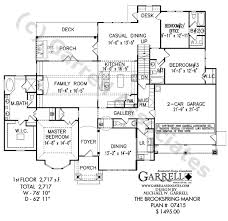 country house plans one story brookspring manor house plan active house plans