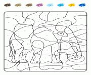 Coloriage MAGIQUE à imprimer Gratuit sur Coloriageinfo
