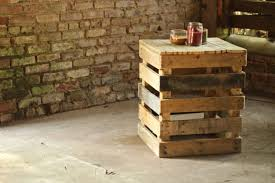 industrial home interior with rustic brick wall also diy pallet