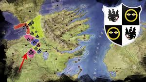 Map Of Westeros World by Houses Of The Riverlands Central Region Of Westeros Map Of