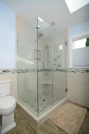 Marble Mosaic Floor Tile 3 4 Bathroom With Rain Shower Head By Renewal Remodels Zillow