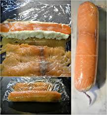 recette cuisine vapeur rouleaux de saumon farci à la vapeur kaderick en kuizinn