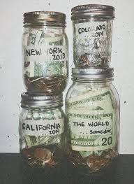25 unique money jars ideas on travel fund travel and