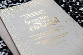 gold foil wedding invitations top compilation of gold foil wedding invitations theruntime