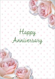 anniversary card template blue template of anniversary card
