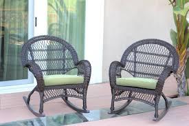 Wicker Rocker Patio Furniture - darby home co berchmans wicker rocker chair with cushions