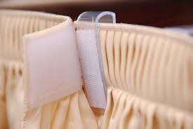 table skirt clips with velcro overlap valance clip with velcro 250 small pack