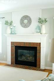 fresh and simple fireplace mantel decor anyway back to the gift