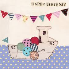 3970 fishing boat birthday card