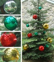 large ornaments for outdoor trees littlebubble me
