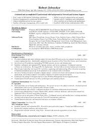 Mis Profile Resume Computer Technician Resume Samples Information Sample Mis It