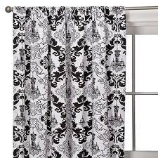 Black And White Window Curtains Black And White Curtain Panels Idee Di Immagini Di Casamia