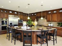 Kitchen  Kitchen Island Table And Staggering Kitchen Island Table - Kitchen island with table attached