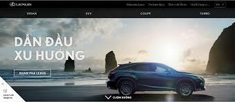 lexus xe hay thiết kế website bán ô tô xe máy phụ tùng u2013 học thiết kế web
