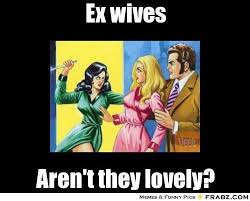 Ex Wife Meme - ex wife butting in to new wifes business meme google search my