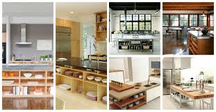 open kitchen islands fascinating open shelving kitchen islands that will make your