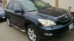 used lexus suv rx330 registered registered nigerian used lexus rx330 first body