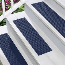 indoor outdoor non slip stair treads at brookstone u2014buy now