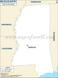 Blank State Maps by Blank Map Of Mississippi Mississippi Outline Map