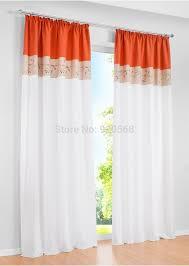 orange and green curtains ideas decoration 3pc kitchen window