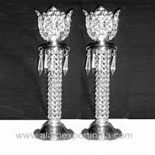 Crystal Vases For Centerpieces Flower Centerpiece Lotus Wedding Centerpiece Crystal Metal