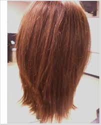 front and back views of medium length hair layered haircut back view dhairstyles