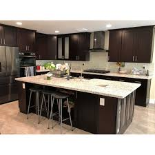 small kitchen cabinets walmart 10 x10 galaxy cabinetry rta espresso shaker kitchen cabinets solid wood doors free 3d design