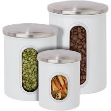 canisters for kitchen counter keep food goods perfectly stored on the kitchen counter or in