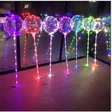 stick up led lights best with stick led bobo ball light up 18inch balloons 3m led light