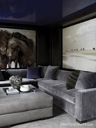 Blue Velvet Sectional Sofa by Blue Velvet Chesterfield Sectional Design Ideas
