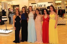 gov livingston students walk the runway in the macy u0027s prom dress