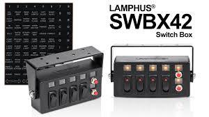 lamphus swbx42 switch box product video youtube