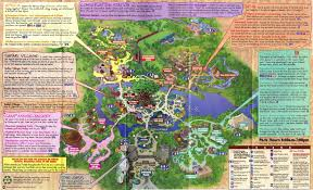 Disney Florida Map by Disney U0027s Animal Kingdom Guidemaps 2000 1998 Page 4
