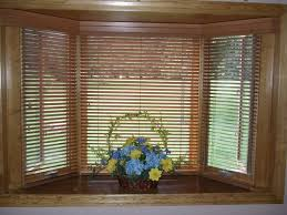 Window With Blinds Treatments For Bay Window Blinds