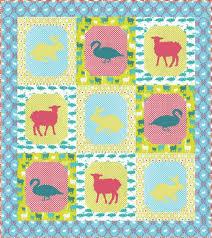 barn babies free pattern robert kaufman fabric company