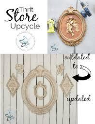 thrift store decor upcycle designed decor