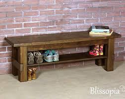 shoe bench etsy
