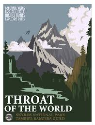 travel posters images Throat of the world travel posters by kennstan jpg