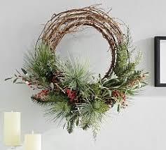 christmas wreaths christmas wreaths garlands trees pottery barn
