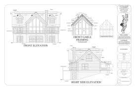 architectural drawings the coleman cabin