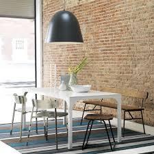 aqua virgo dining table cb2 house ideas pinterest pendant