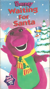 image barney waiting for santa 1 jpg christmas specials wiki