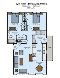 West 10 Apartments Floor Plans by Town West Apartments 2 Bed Haag Management Inc