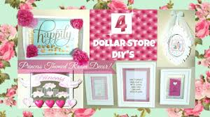 Diy Girly Room Decor 4 Girly Princess Room Decor Ideas Dollar Store Diy U0027s Youtube