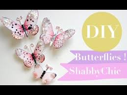 how to make butterflies shabbychic diy paper tutorial super