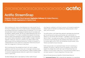 data as a service resources actifio