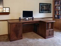 Walnut Computer Desks Walnut Computer Desk Stylish In 4 Interior And Home Ideas