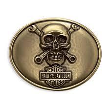 harley davidson skull wrenches buckle 97693 18vm fraser